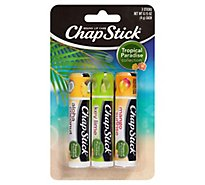 Chapstick Tropical Paradise - 3-.15 Oz