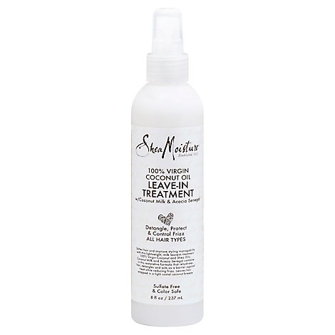 SheaMoisture Leave In Treatment 100% Virgin Coconut Oil - 8 Fl. Oz.