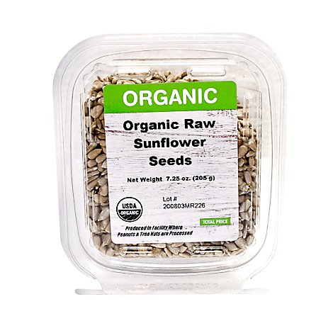 Rivertrail Foods Organic Sunflower Seed Raw - 7.25 Oz