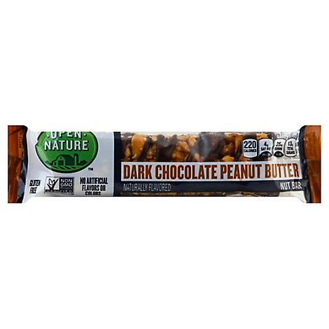 Open Nature Nut Bar Dark Chocolate Peanut Butter - 1.4 Oz