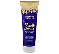 Not Your Mothers Blonde Moment Shampoo Purple Treatment - 8 Fl. Oz.