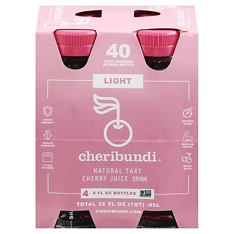 Cheribundi Juice Light Tart Cherry - 4-8 Fl. Oz.