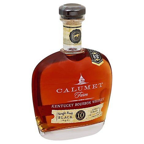 Calumet Single Rack Black 10 Year Bourbon 92 Proof - 750 Ml