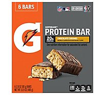 Gatorade Protein Bars Chocolate Caramel - 6-2.82 Oz