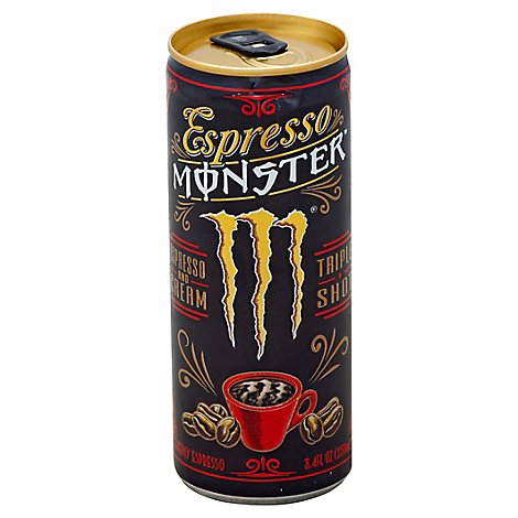 Monster Energy Espresso Monster Energy Drink Cream - 8.4 Fl. Oz.