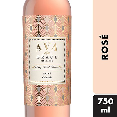 AVA Grace Vineyards Wine Pink Rose - 750 Ml