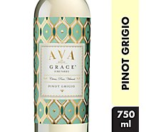 AVA Grace Vineyards Wine White Pinot Grigio - 750 Ml