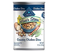 Blue Dog Food Blues Stew Grain Free Stew Country Chicken Can - 12.5 Oz