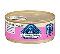 Blue Dog Food Homestyle Recipe Dinner Chicken Small Breed Can - 5.5 Oz
