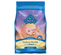 Blue Cat Food Indoor Health Adult Chicken & Brown Rice Recipe - 5 Lb