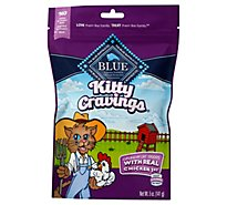Blue Cat Treats Kitty Cravings Crunchy Real Chicken Bag - 5 Oz