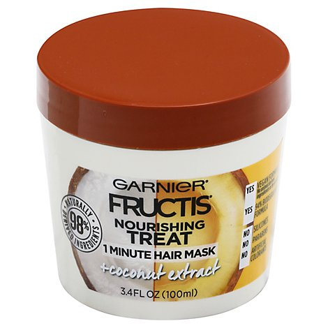Garnier Hair Trtmt Coconut - 3.4 Fl. Oz.