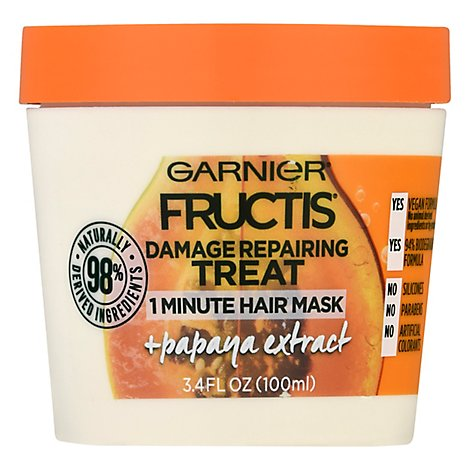 Garnier Hair Trtmnt Papaya - 3.4 Fl. Oz.