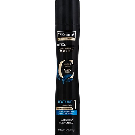 TRESemme Hairspray Compressed Micro Mist Boost 1 Texture - 5.5 Oz