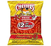 CHESTERS Fries Flamin Hot Bag - 5.25 Oz