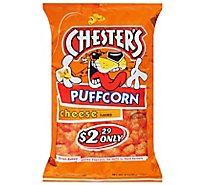 Chesters Puffcorn Cheese - 4.25 Oz