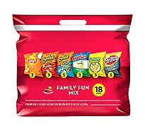 Frito Lay Snacks Family Fun Mix Bag - 18-1 Oz