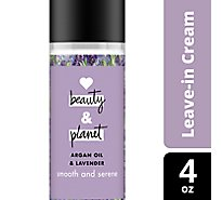 Love Beauty and Planet Leave In Cream Argan Oil & Lavender - 4 Oz
