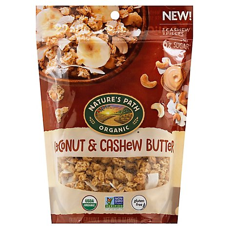 Natures Path Organic Granola Coconut & Cashew Butter - 11 Oz