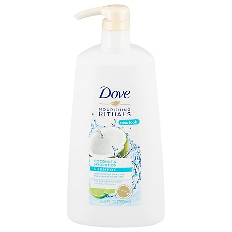 Dove Nourishing Rituals Shampoo Coconut & Hydration - 25.4 Fl. Oz.