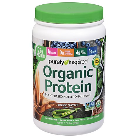 Purely In Organic Prtn Choc - 1.5 Lb