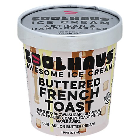 Coolhaus Ice Crm Bttrd Frnch Toast - 16 Fl. Oz.