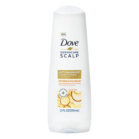 Dove DermaCare Scalp Conditioner Anti Dandruff Dryness And Itch Relief - 12 Oz