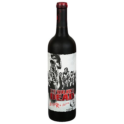 The Walking Dead Dark Red Blend Wine - 750 Ml