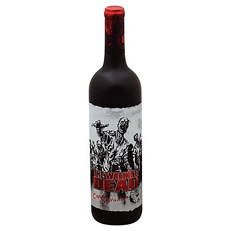 The Walking Dead Cabernet Sauv Wine - 750 Ml