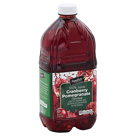 Signature SELECT Juice Cranberry Pomegranate 100% - 64 Fl. Oz.