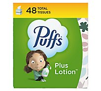Puffs Plus Lotion Facial Tissue White - 48 Count