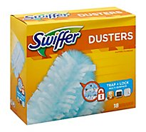 Swiffer Dusters Trap Lock - 18 Count