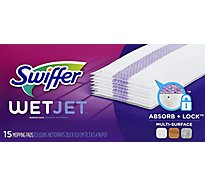 Swiffer WetJet Mopping Pads Refill Multi Surface - 15 Count