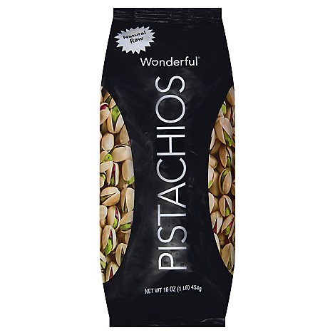 Wonderful Pistachios Natural Raw Pistachios - 16 Oz.