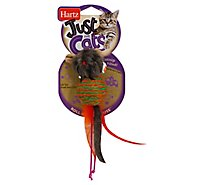 Hartz Just For Cats Cat Toy Catnip Filled Mouse - Each