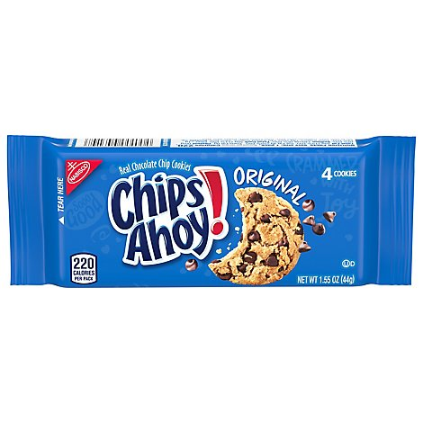 Nabisco 12 Count Single Serve Chips Ahoy - 12-1.55 Oz