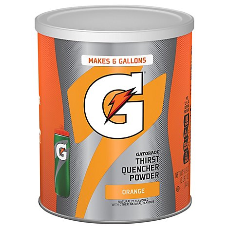 Gatorade 02 Perform Thirst Quencher Orange Instant Powder Mix Tin - 50.9 Oz