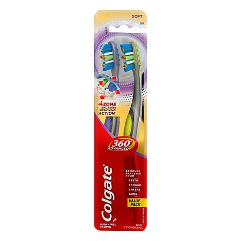 Colgate Mtb 360 4zone - 2 Count