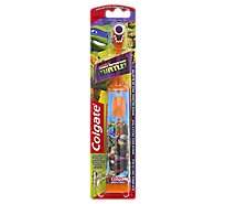 Colgate Toothbrush Kids Pwr Battery Tmnt - Each