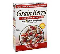 Silver Palate Grain Berry Cereal Cinnamon Frosted Shredded Wheat - 16 Oz