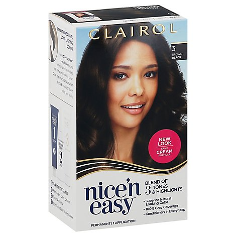 Nice N Easy Hair Clr Ntrl Dkest Brn 3.5 - Each