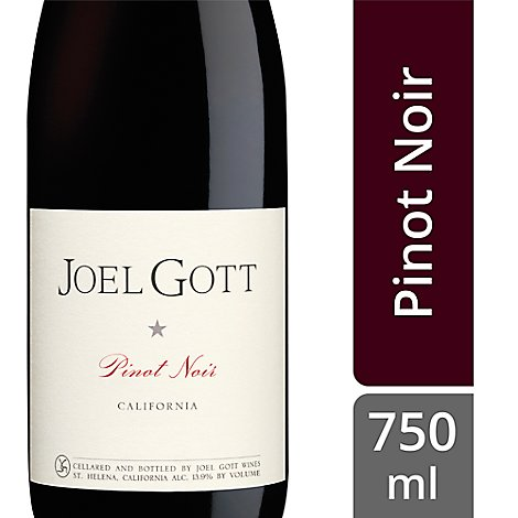 Joel Gott California Pinot Noir Wine - 750 Ml