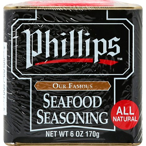Phillips Seafood Seasoning - 6 Oz