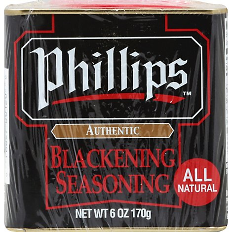 Phillips Blackening Seasoning - 6 Oz