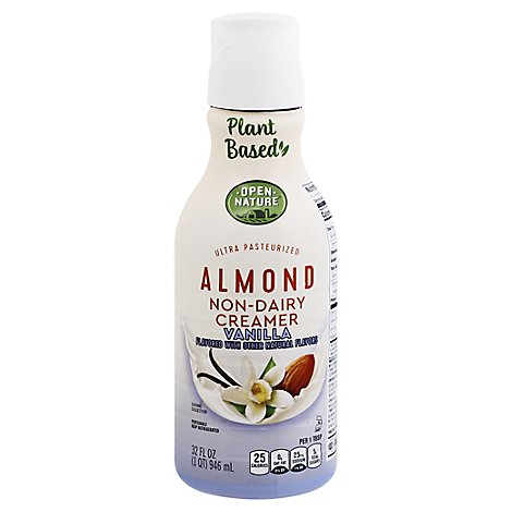 Open Nature Almond Creamer Vanilla - 32 Fl. Oz.