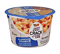 Just Crack An Egg Scramble Kit - Refrigerated All American - 3 Oz