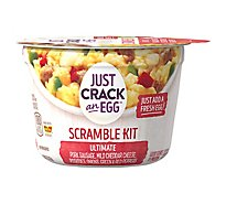 Just Crack An Egg Scramble Kit Refrigerated Ultimate Scramble - 3 Oz