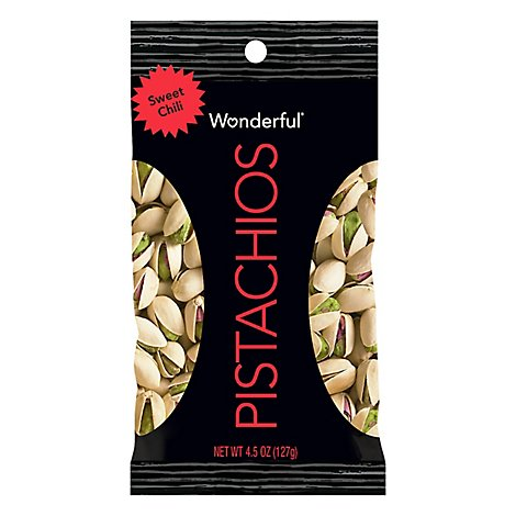 Wonderful Pistachios Sweet Chili - 4.5 Oz