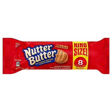 Nab Nutter Butter King Size - 3.5 Oz
