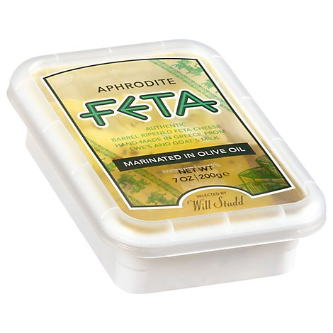 Aphrodite Feta Marinated In Olive Oil And Herbs - 7 Oz